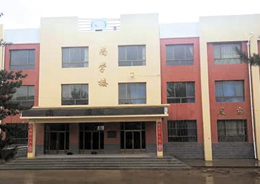 公司承建的会宁县汉岔中学尚学楼(建筑面积1680平方米)